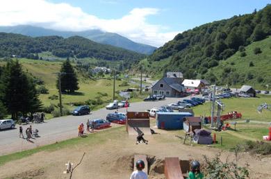 Photo du mountainboard park de Payolle