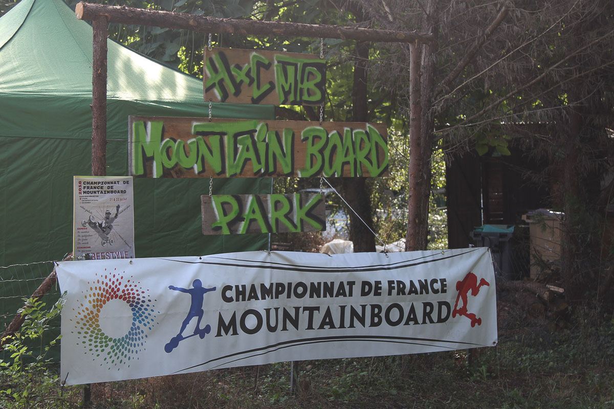 Pancarte du park