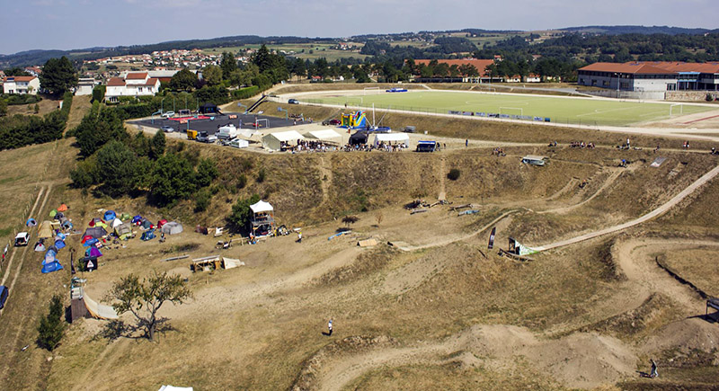 Vue aerienne du Rollin Strol 2013