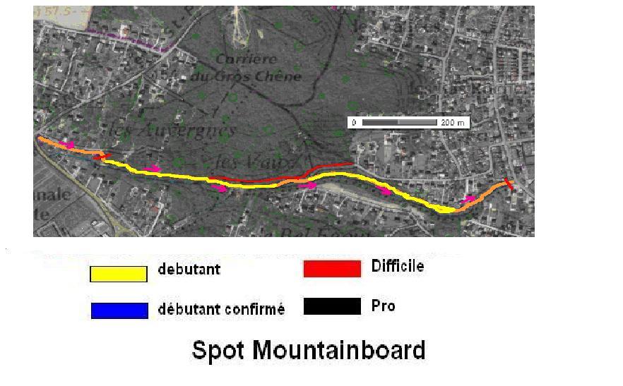 carte du spot la ville du bois 91 debutant