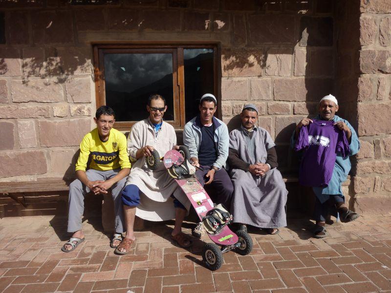 guides de l'Atlas, Maroc
